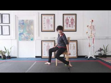 Foot pain series - seated stretches